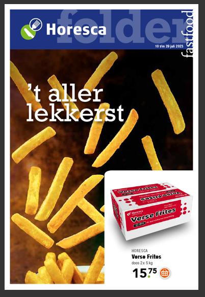 Folder Fastfood Horesca